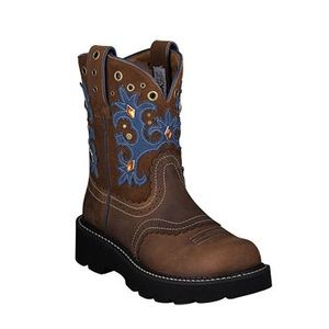 Ariat Womens Fat baby Round toe boots